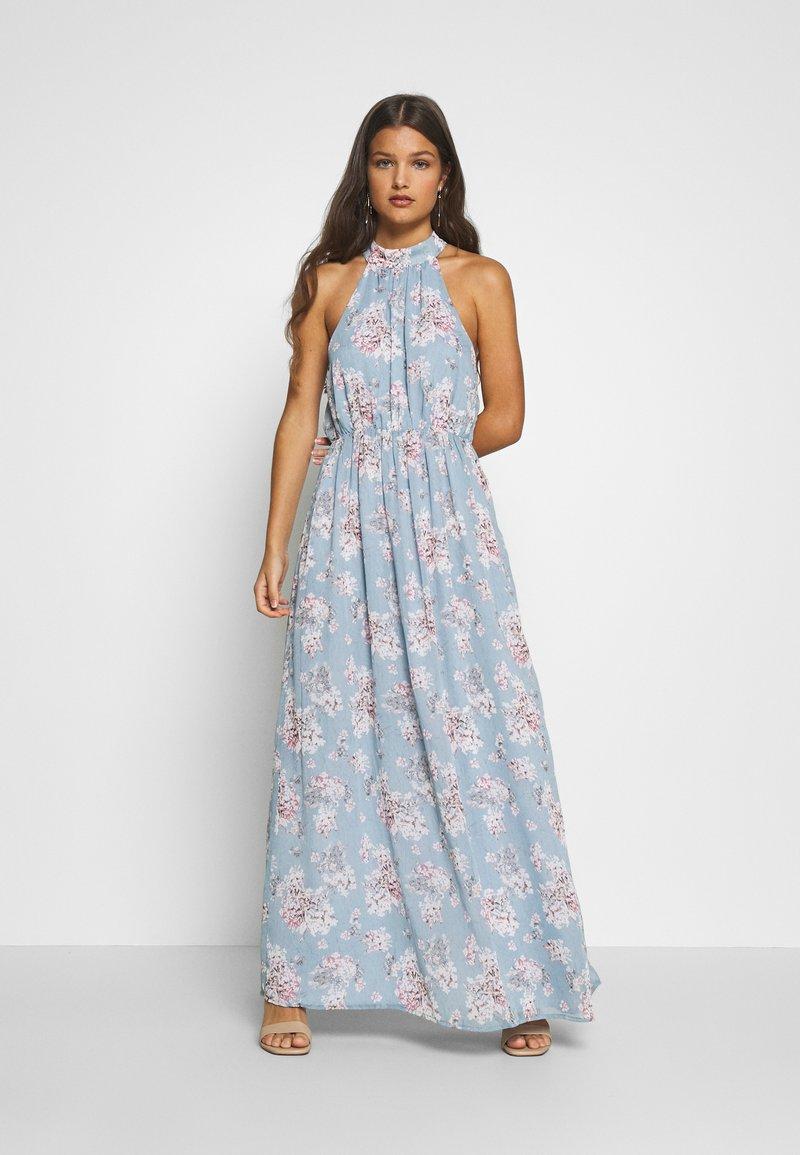 VILA PETITE - VISMILLA MAXI DRESS  - Maxikleid - ashley blue