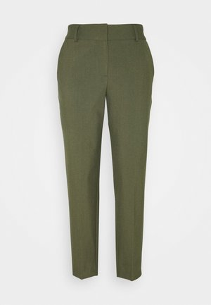 SLFRIA CROPPED PANT - Trousers - winter moss melange