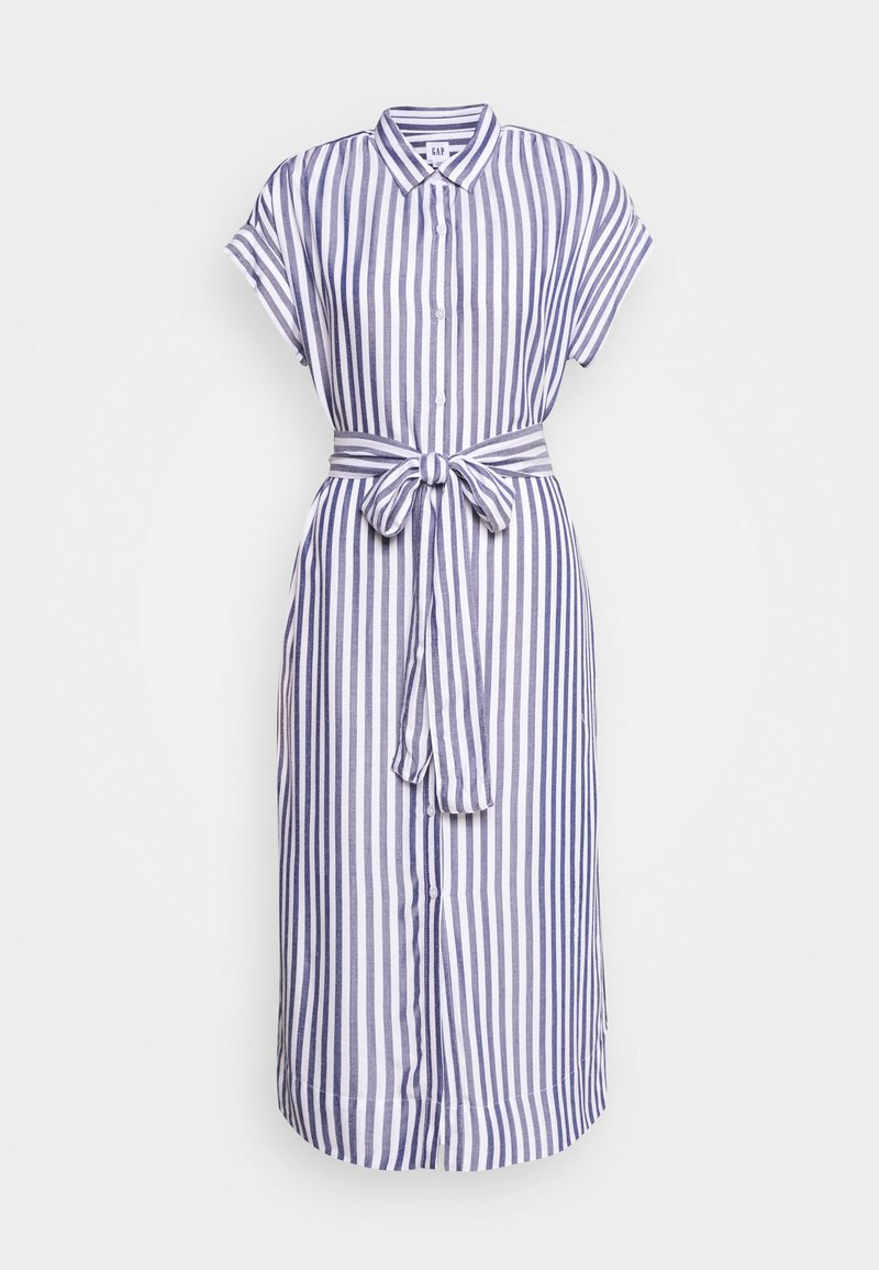 GAP Petite - Robe chemise - blue