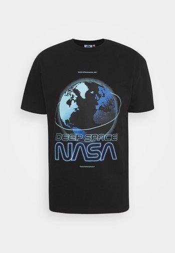 NASA  - Triko spotiskem - black