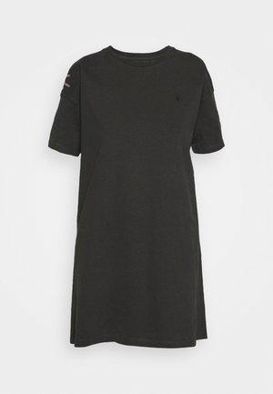 AQUILA TEE DRESS - Jersey dress - vintage black