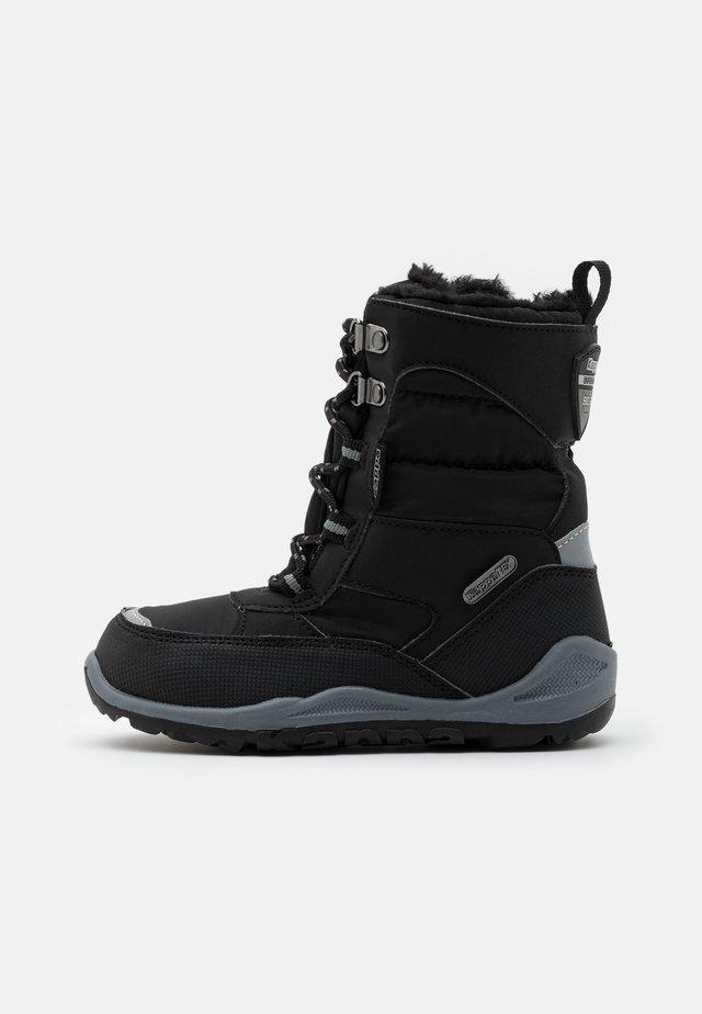ALIDO TEX UNISEX - Zimní obuv - black/grey