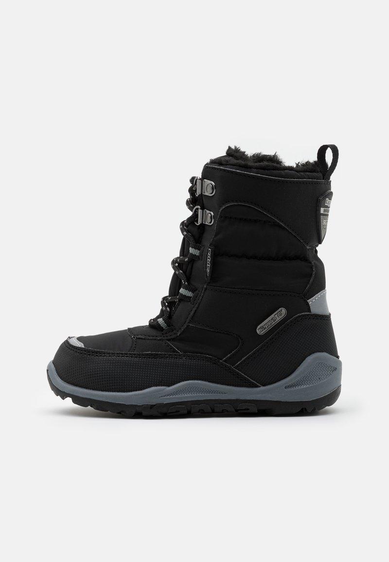 Kappa - ALIDO TEX UNISEX - Winter boots - black/grey