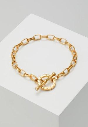BEJEWELLED T-BAR BRACELET - Armband - gold-coloured