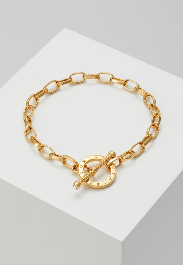 BEJEWELLED T-BAR BRACELET - Bracelet - gold-coloured