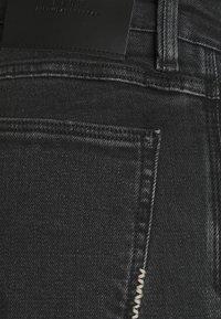Neuw - IGGY  - Džíny Slim Fit - black denim - 5