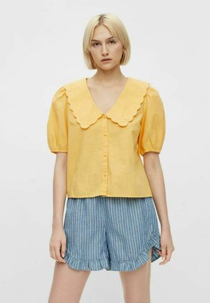 PCTAE  - Button-down blouse - banana
