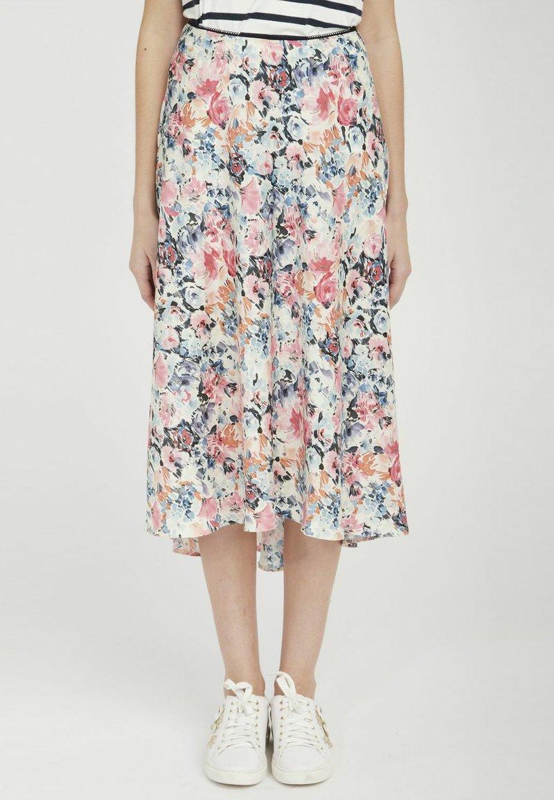 NAF NAF - A-line skirt - white