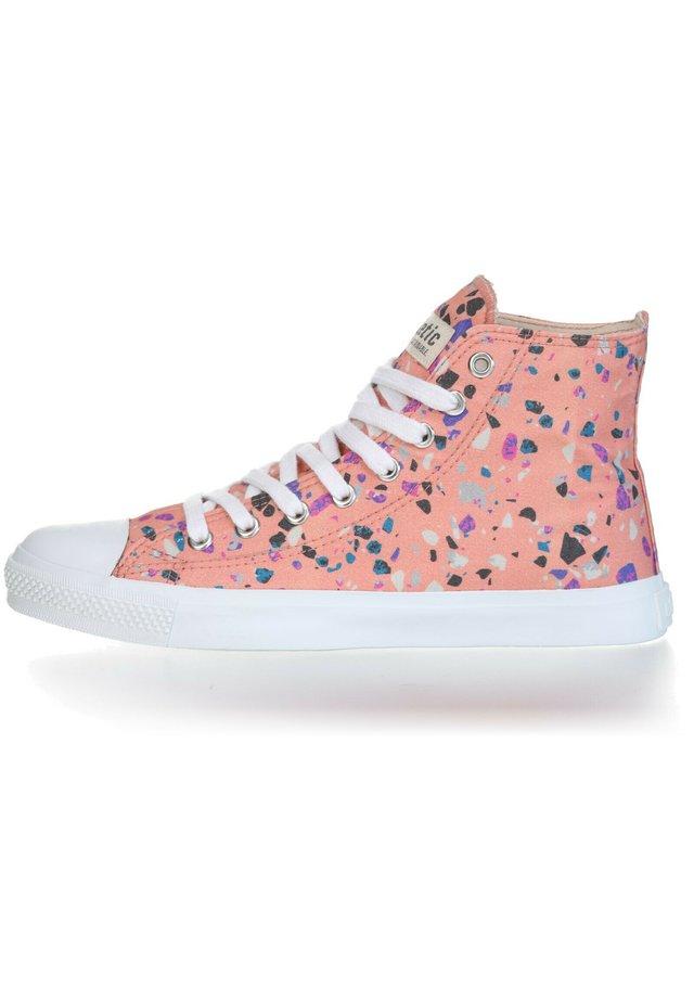 Sneakers hoog - rose