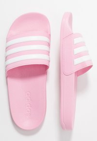 adidas Performance - ADILETTE SHOWER UNISEX - Sandály do bazénu - true pink/footwear white - 0