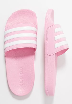 ADILETTE SHOWER UNISEX - Sandály do bazénu - true pink/footwear white
