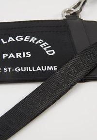 KARL LAGERFELD - RUE ST GUILLAUME CARD HOLDER - Monedero - black - 2