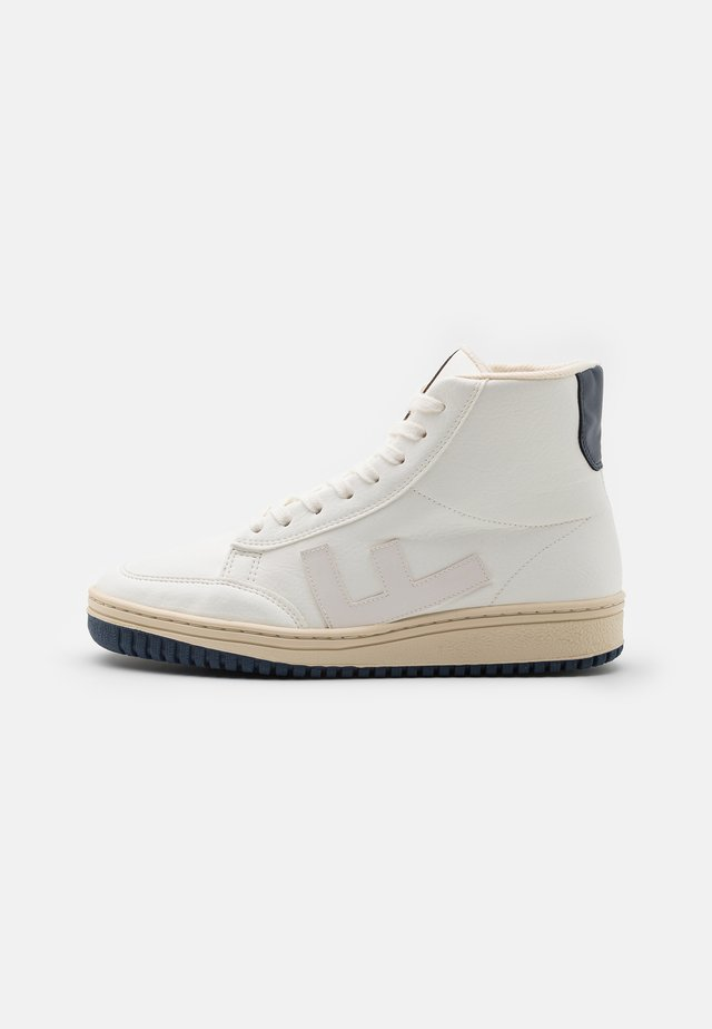 OLD 80'S BOOTS UNISEX - Sneaker high - white/bicolor