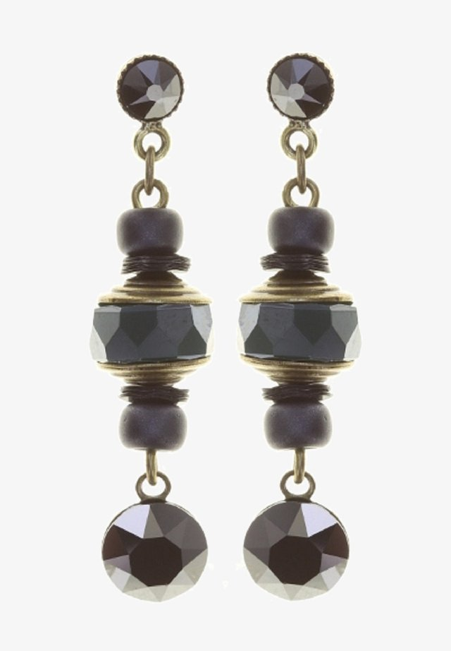 Earrings - schwarz