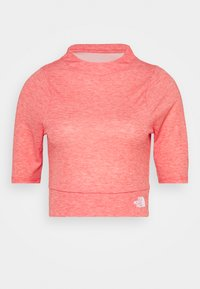 The North Face - VYRTUE CROP - Print T-shirt - horizon red heather - 0