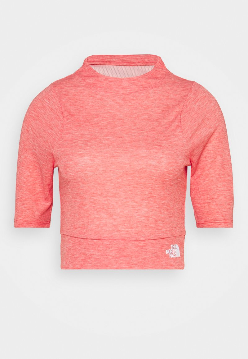 The North Face - VYRTUE CROP - Print T-shirt - horizon red heather