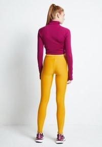 adidas Performance - ASK - Leggings - dark yellow - 3