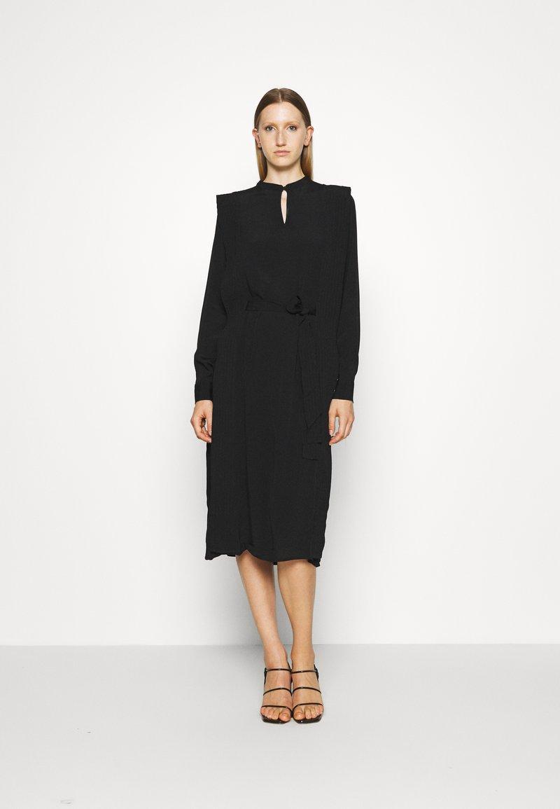 Bruuns Bazaar - LILLI COVER DRESS - Day dress - black
