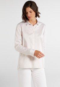 Eterna - Button-down blouse - beige/weiß - 0