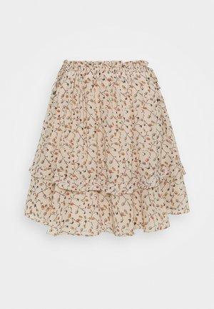 DORAL SKIRT - Mini skirt - cream