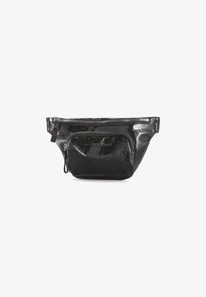 Bum bag - patent black