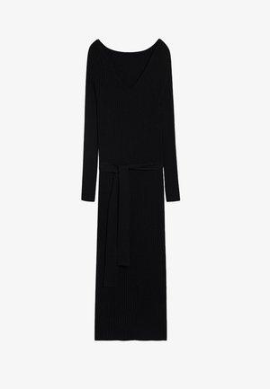 GOLETA - Jumper dress - noir