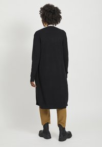 Vila - VIRIL LONG CARDIGAN - Cardigan - black