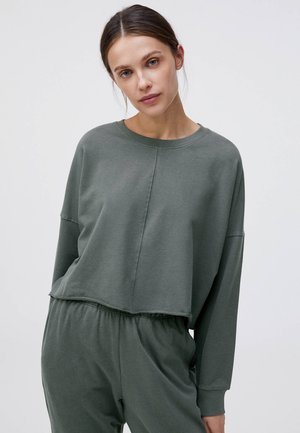 CROPPED - Sweatshirt - dark grey