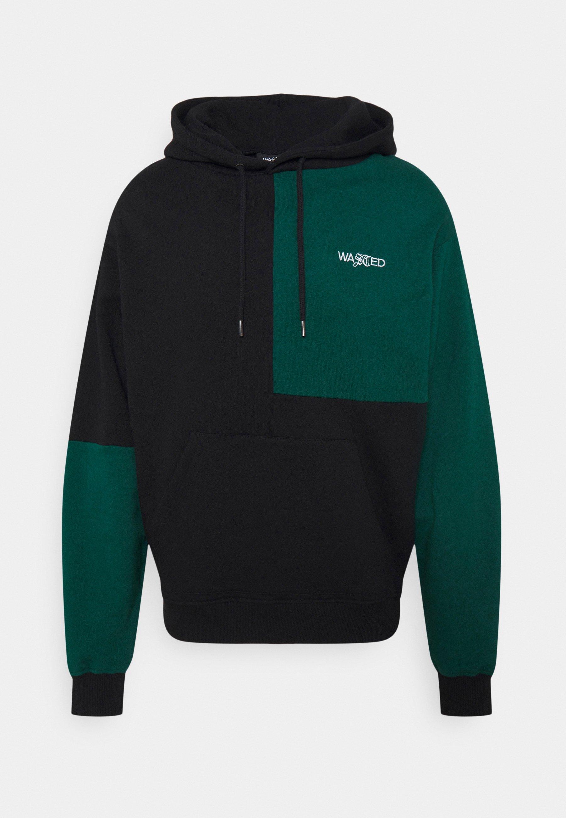 Men HOODIE PATCHWORK UNISEX - Sweatshirt