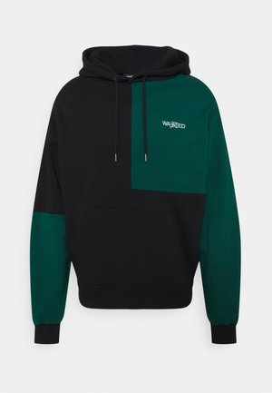 HOODIE PATCHWORK UNISEX - Sweater - forest green