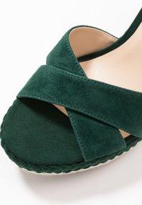 Anna Field - LEATHER - Højhælede sandaletter / Højhælede sandaler - green - 2