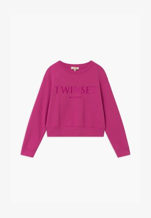 GIROCOLLO - Sweater - fuxia scuro