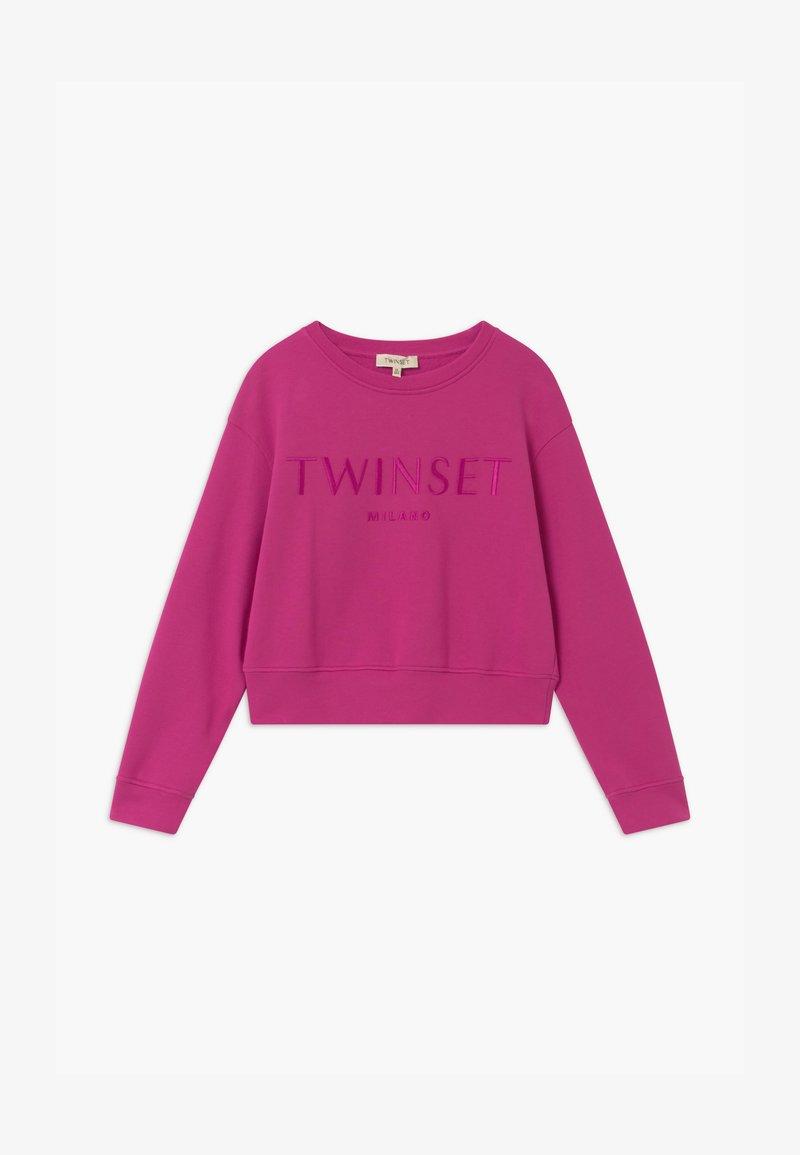 TWINSET - GIROCOLLO - Sweatshirt - fuxia scuro