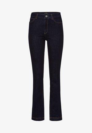 Bootcut jeans - dark-blue denim