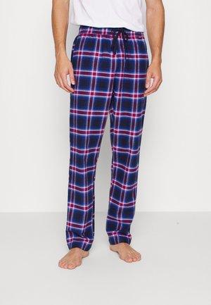 PYJAMAS PANTS  - Pyjamabroek - dark blue/red