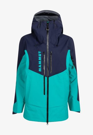 Snowboard jacket - dark ceramic-marine
