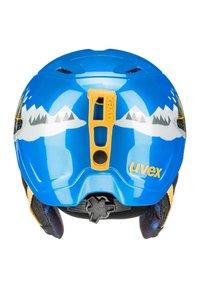 Uvex - Helmet - blue caterpillar - 3