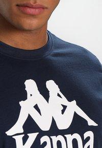 Kappa - CASPAR - T-shirt con stampa - navy - 3