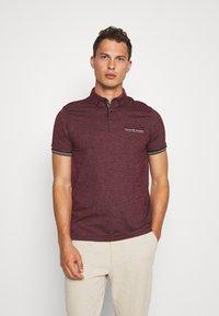 Burton Menswear London - CUFF - Polo shirt - burgundy - 3
