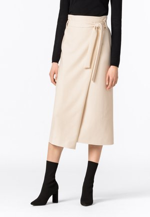 Wrap skirt - cream