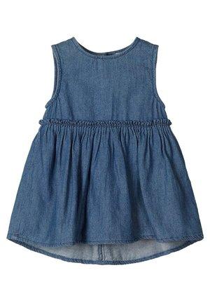 WEICHES - Denim dress - medium blue denim