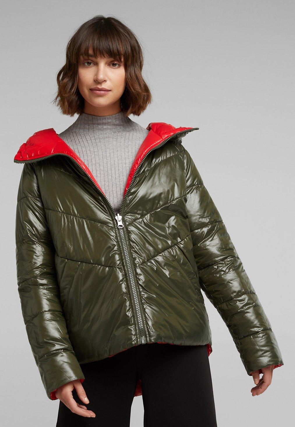 edc by Esprit Winterjacke khaki green/khaki