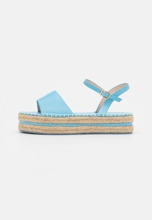 MONROE - Sandály na platformě - blue