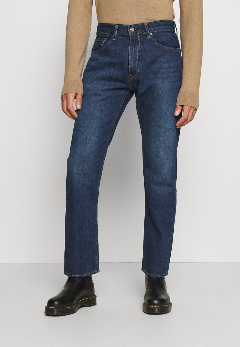 Levi's® - WELLTHREAD 551Z™ AUTHENTIC STRAIGHT - Jeans a sigaretta - dark indigo