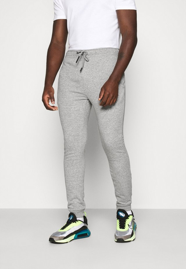 ONSCERES LIFE PANTS - Tracksuit bottoms - light grey melange