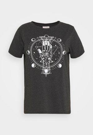 Camiseta estampada - dark grey melange