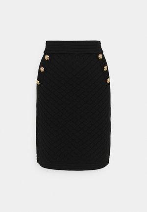 SKIRT - Pouzdrová sukně - black