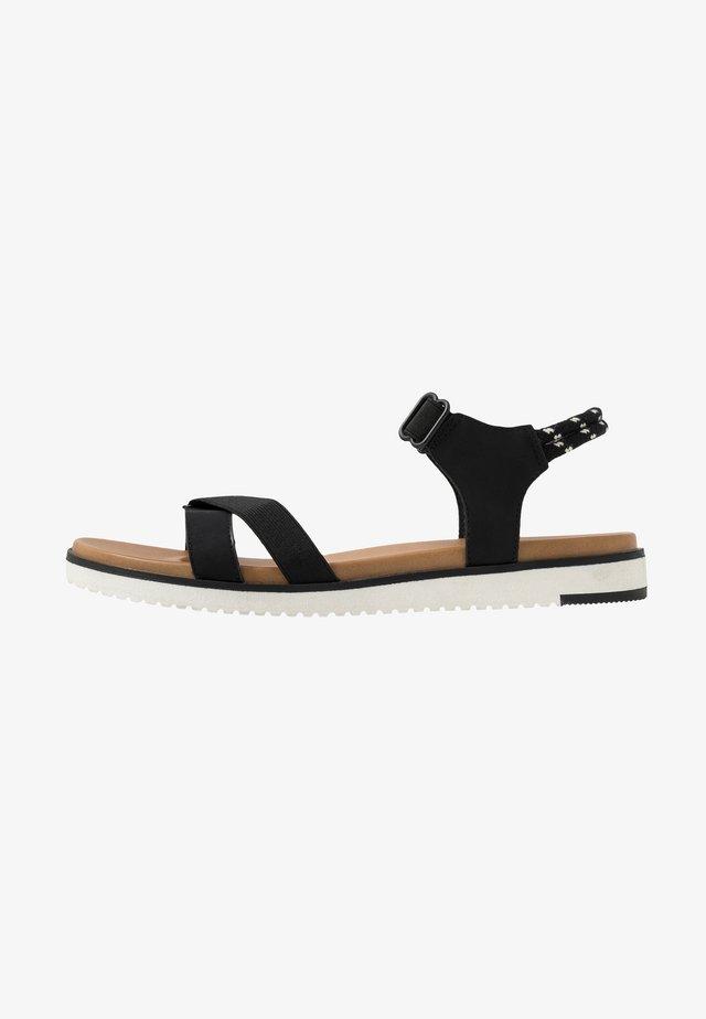 STILTIA - Sandaalit nilkkaremmillä - black