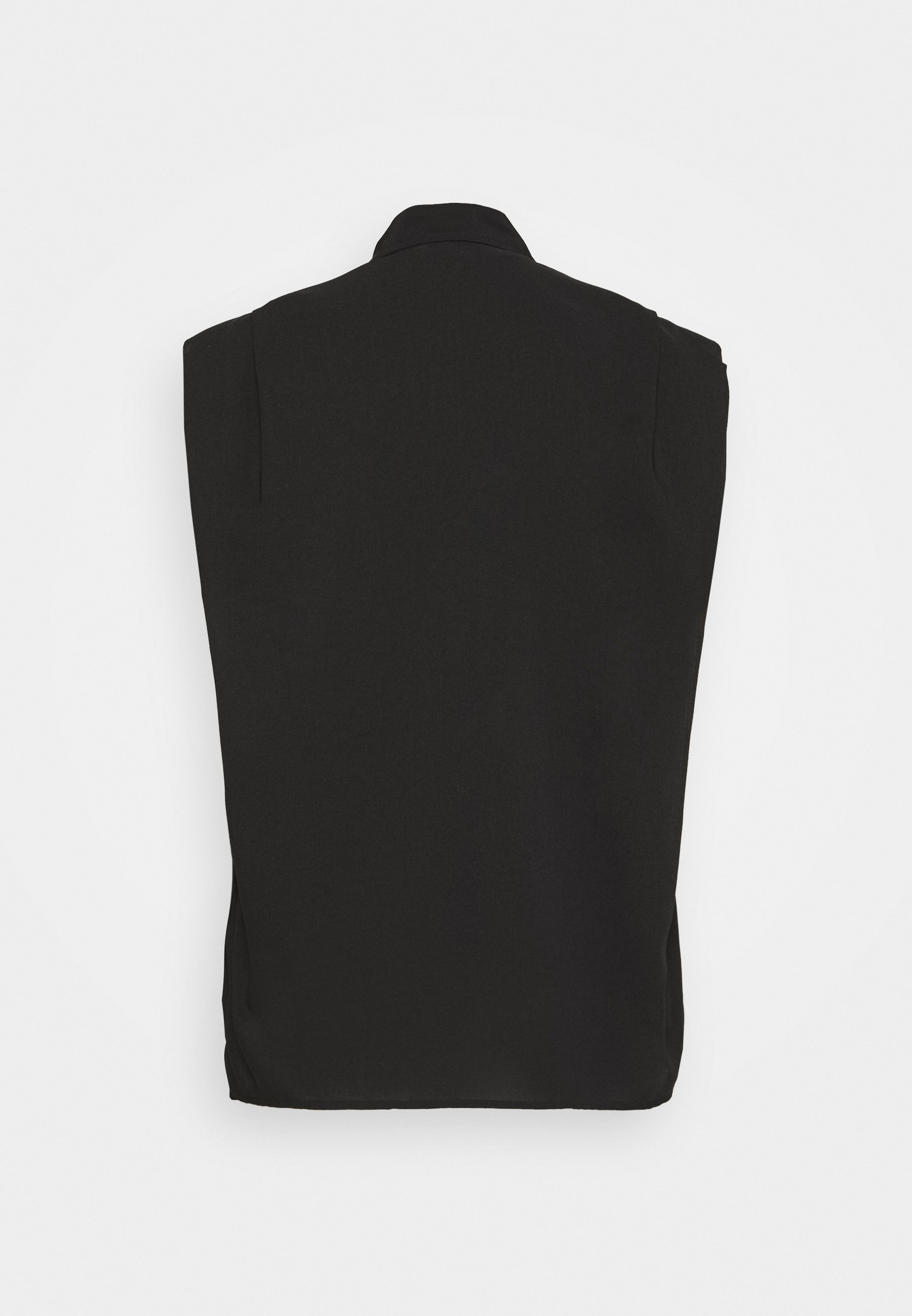3.1 Phillip Lim Cap Sleeve Blouse - Skjorte Black/svart