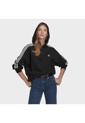SHORT HOODIE - Jersey con capucha - black